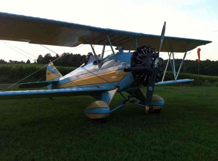 1929 Travel Air 4000 low time rare restored antique ...