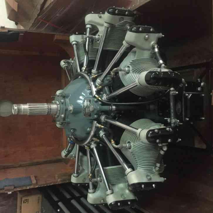 waco    restoration project  engine    major overhaul