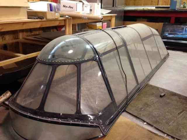 canopy canopy. airplane skyeastern. ultralight helicopter & Eastern aircraft (Grumman) : u201c some cracking in lower clear panels ...