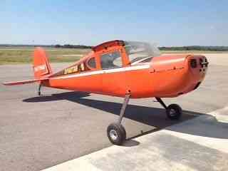 """Project plane "" Cessna 140 1946 1946 Cessna 140 Spartan Trainer for sale   Has lots of potential for"