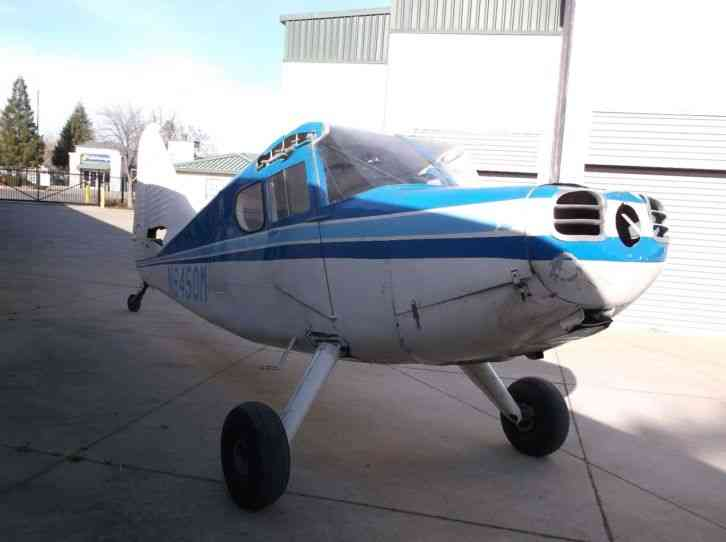 1948 STINSON 108-3, ONLY 1747 TTSNEW AIRFRAME,STILL IN CALENDAR ANNUAL, CHEAP !!