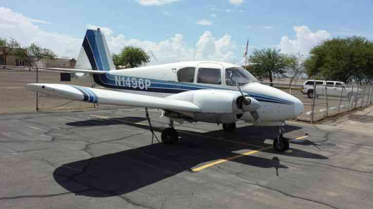 1955 Piper Apache Serial 23 566  Total Airfrme time = 3959  Left Engine =  1522 SMHO  Right Engine =