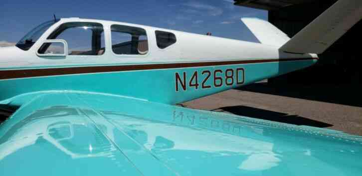 bonanza airplane