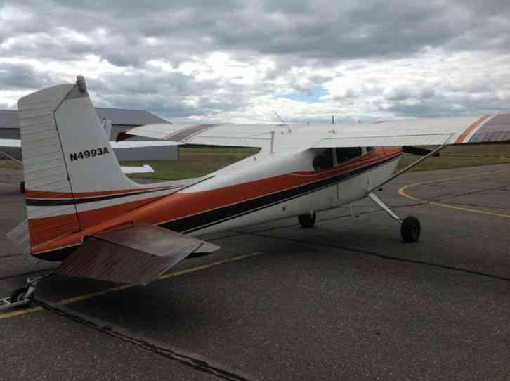 Cessna 180 Make An Excellent Bush Plane Low Airframe