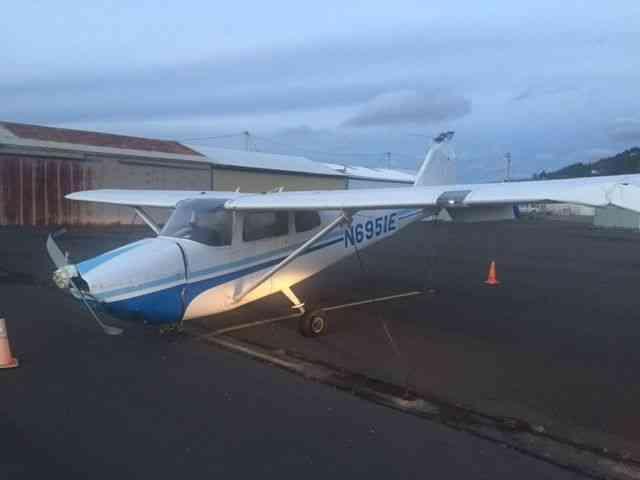 Cessna 175 Instrument Panel