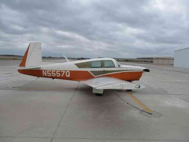 1965 Mooney M20c 3533tt 1 Prop Blade Hit A Chain No