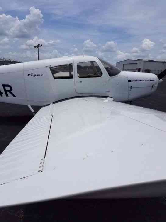 Piper   1966 This Ifr Equipped Cherokee 140   Tt 3 500