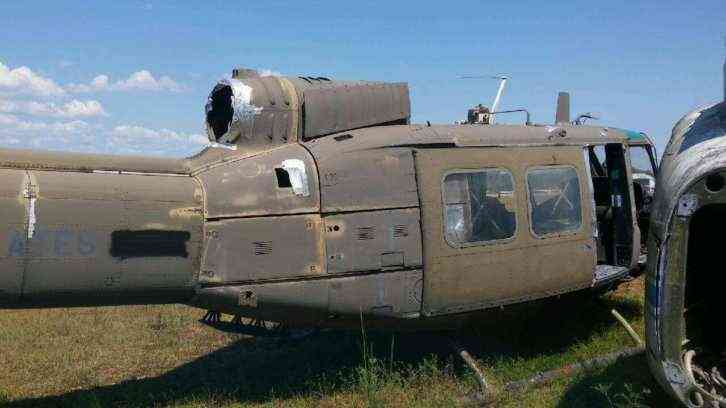 Huey Helicopter For Sale >> 1971 Bell Huey Helicopter Fuselage ONLY For Parts or Static Display : 1