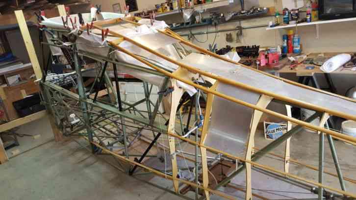 Bellanca Decathlon Is An Un Completed Rebuild Project