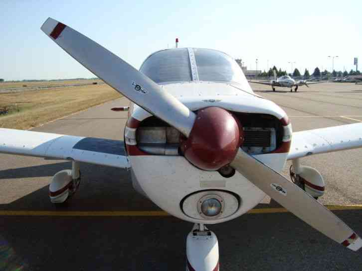 """Newer Cherokee PA 28 140 with 150HP modern panel layout, throttle  quadrant, new style elevator"