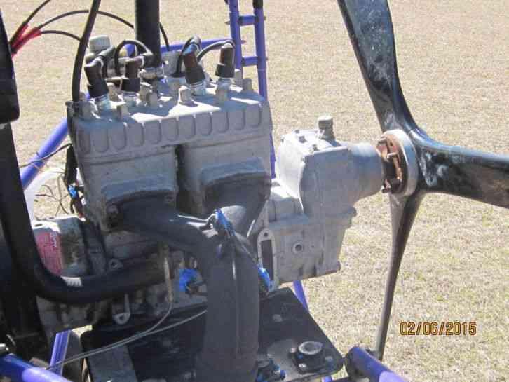 "Buckeye Dream Machine : ""Motor runs great, Wing is old ad ..."