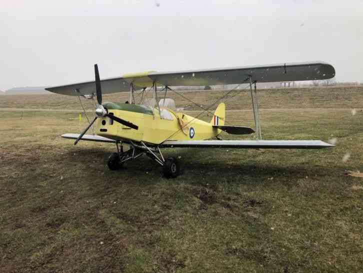 1998 FISHER R-80 TIGER MOTH, KIT BUILT 80% REPLICA, 256SNEW,206SMOH 100 H.P., SL