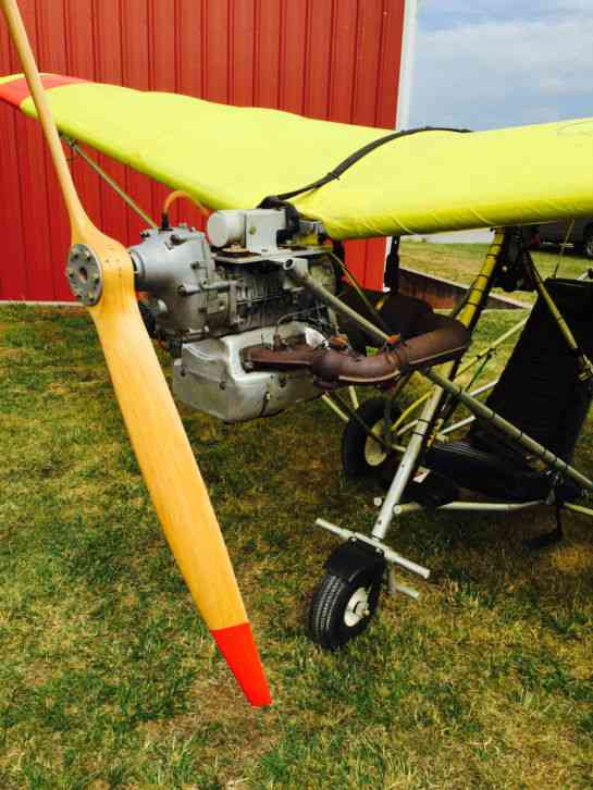 """""""In excellent condition  Always stored in a hangar, runs great, wing fabric  in good strong"""
