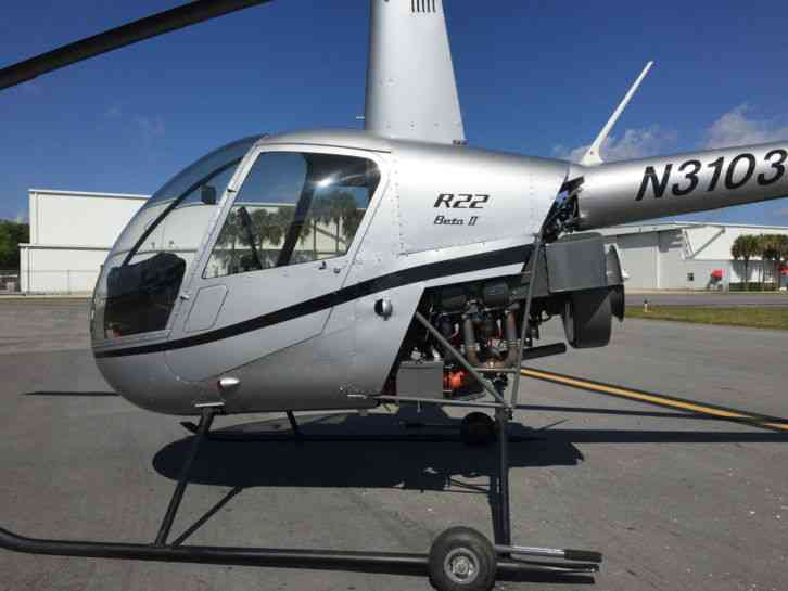 "2006 Robinson Helicopter R22 beta II : ""5 Hours since FOH No damage"