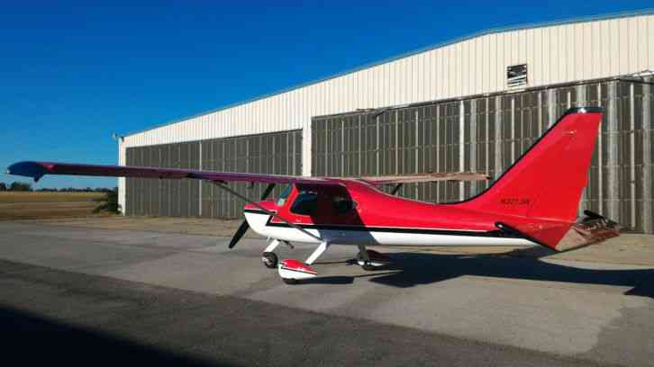 Glasair Sportsman 2+2 : 2007 Two weeks to taxi factory built