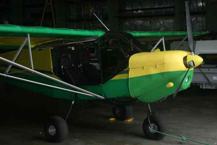 60K Rans S6ES Short Takeoff/Rough field aircraft. Fly it home.