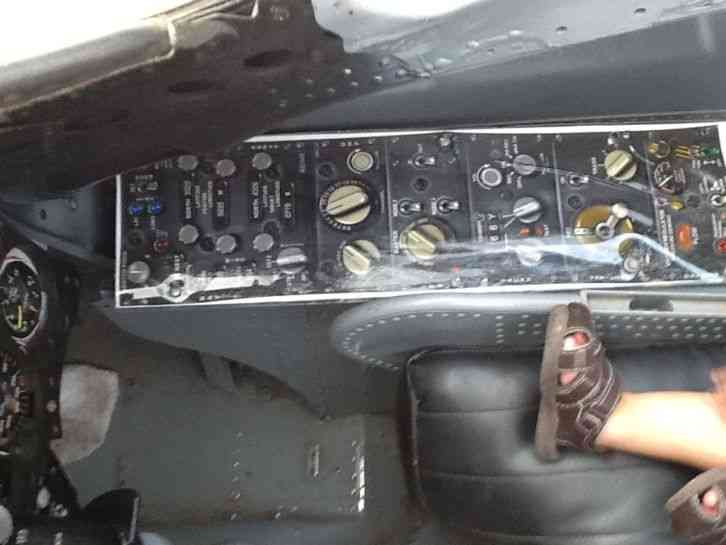This is a a 4 skyhawk cockpit with ejection seat  It is currently painted  in the blue angel colors