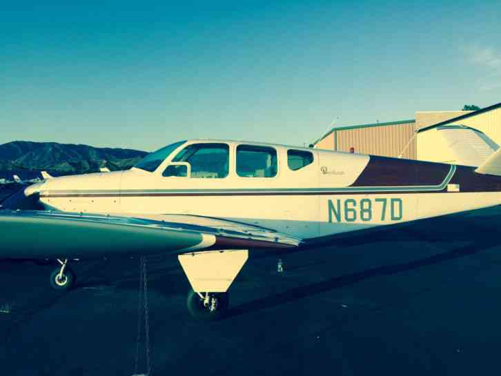 beechcraft bonanza v tail