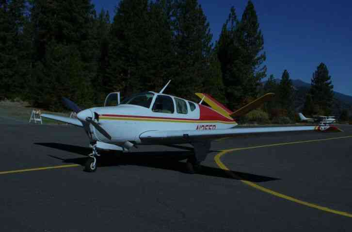 beech airplane
