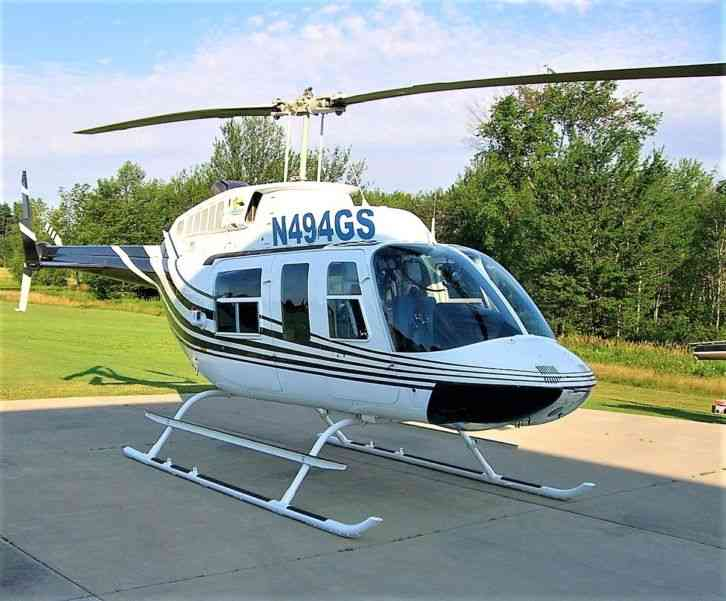 BELL 1983 1983 BELL 206L 1 LONG RANGER SERIAL NUMBER: 45494 REGISTRATION:  N494GS AIRFRAME: Total