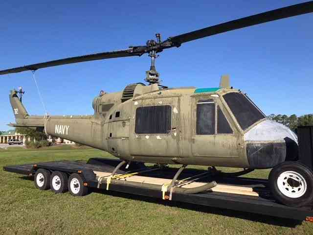 Bell UH1 Huey Helicopter Fuselage