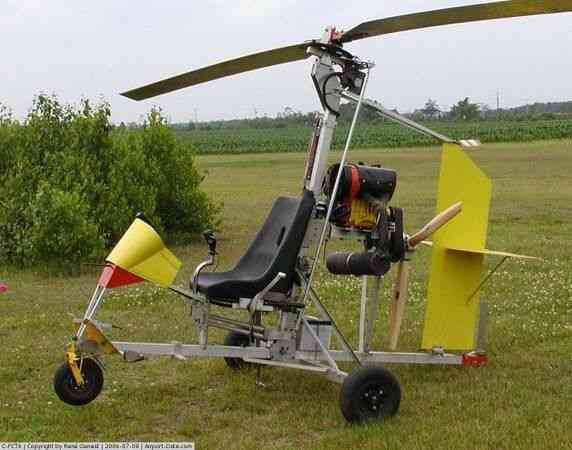 gyrocopter shipped