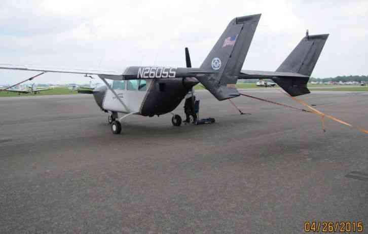 Cessna 337 Skymaster, 1968, Tail Number Is N2605s Appraised Around  $78000 00, No Damage History
