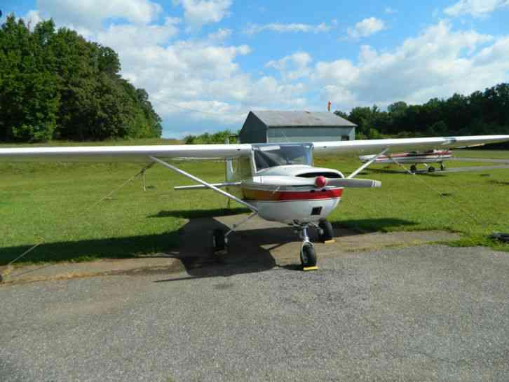 "Cessna : "" 150 1959 (strait tail)"" 1959 150 restored long"