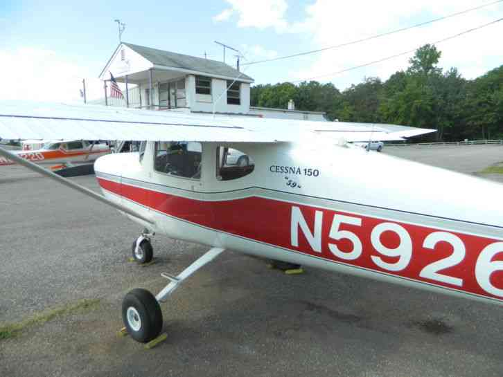 """Cessna 150 1959 (strait tail)"" Cessna 1959 Cessna 150 restored long range  fuel tanks a c 3750 hrs"