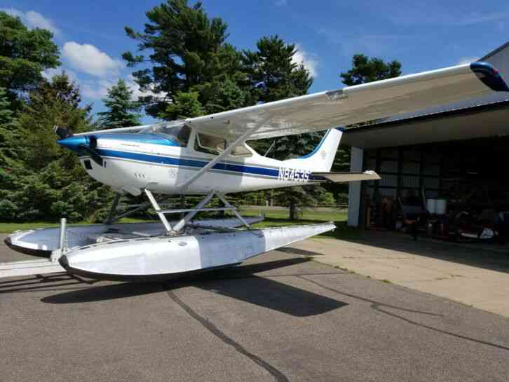 """very clean 1965 Cessna 182H model with float kit , Sportsman STOL kit,  nice set EDO 2960 floats'"