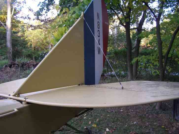 Curtiss Jenny 1992 2 3 Scale Airplane This Plane Was