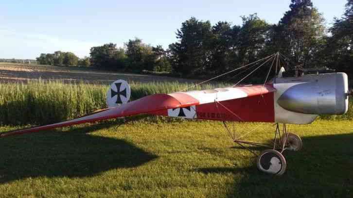Used Tires Dayton Ohio >> Eindecker eIII ultralight aircraft : This is a fokker ...