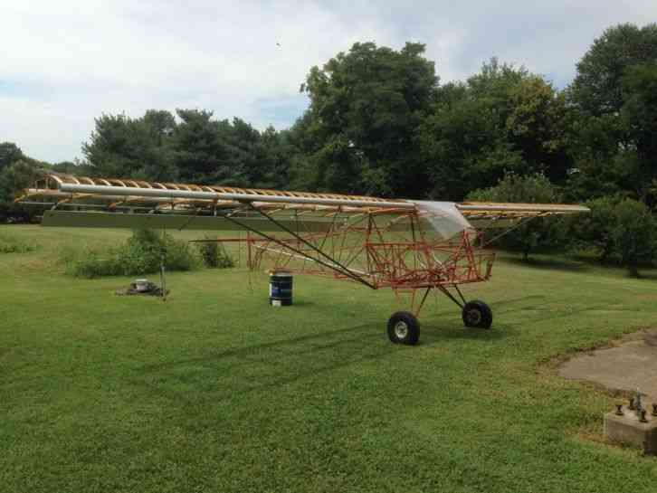 New You are bidding on a plans built, single engine, 2 place experimental  aircraft  I started