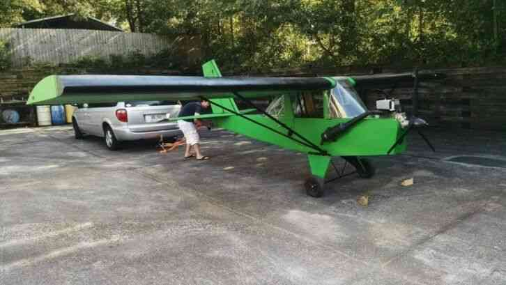Flying Hi-Max Ultralight Complete with custom trailer