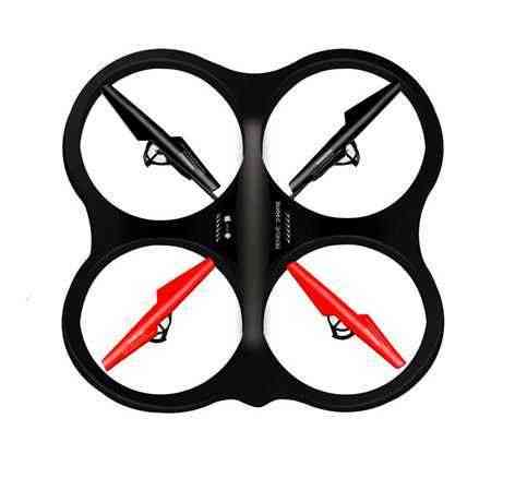 Four Axis Aircraft IDrone 2M Camera 720P Video	Smart Mobile Device Android /Ios
