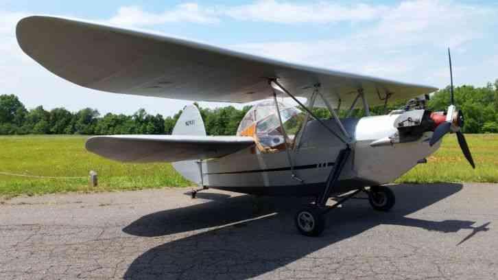 French Flying Flea Hm293 W Folding Wings French Flying