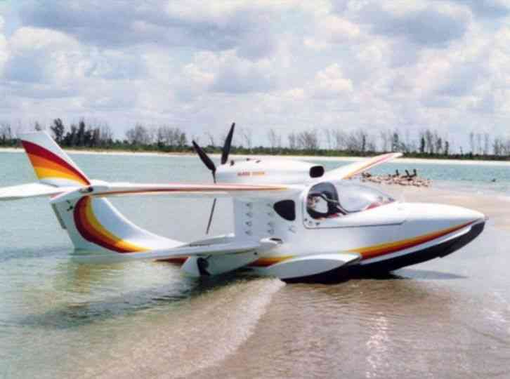 New The Glass Goose is a refined state of the art composite aircraft  available in kit form  An