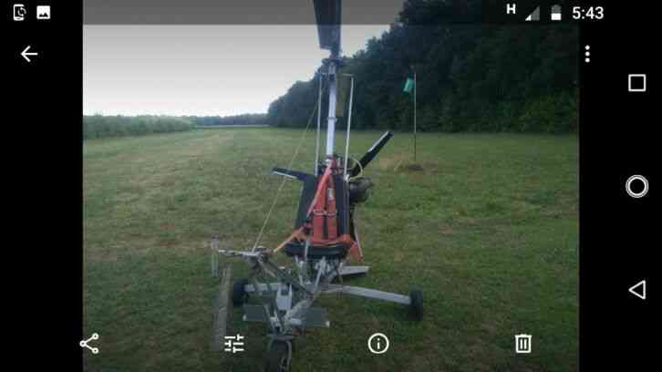 ultralight skygyrocopter