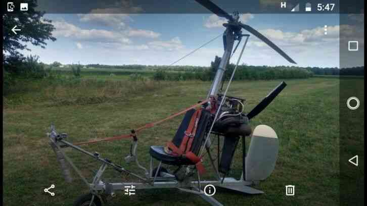 Gyrocopter kb2 excellent condición low hours