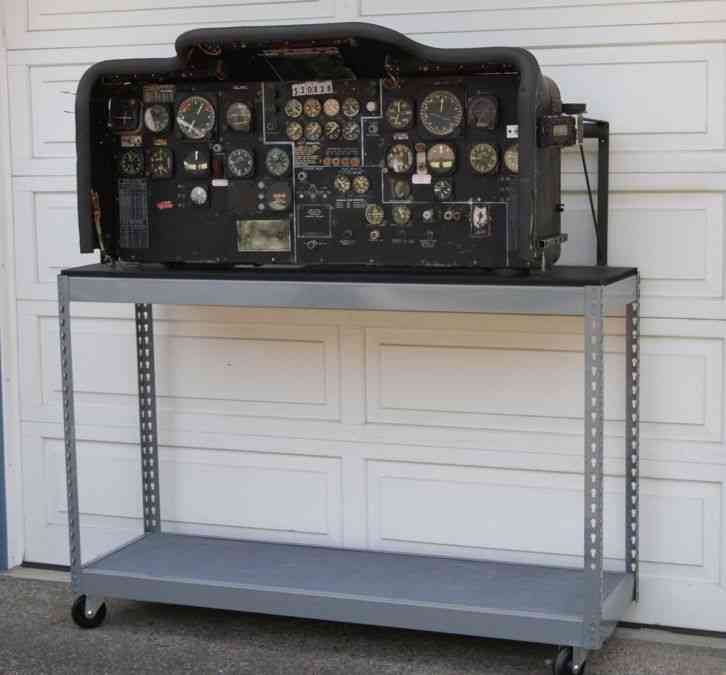 Kc-97 Instrument Panel With Instruments