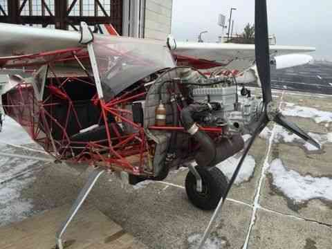 Kitfox Project Airplane Has Damage Currently In