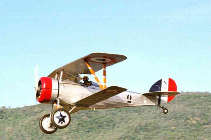 2001 Nieuport 24 Built 2001 From Redfern Plans 160 Hp Lycoming O 320 H2AD 100 TTAFE McCauley