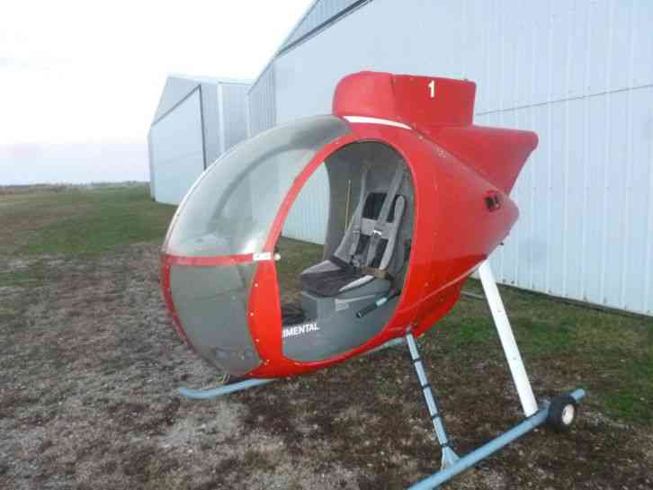 Revolution 1997 For sale: REVOLUTION MINI 500 project parts of the  experimental helicopter , kit