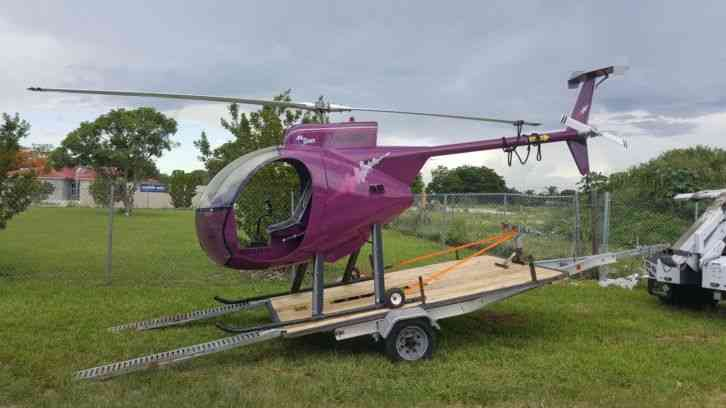 Mini 500 Helicopter Experimental Aircraft