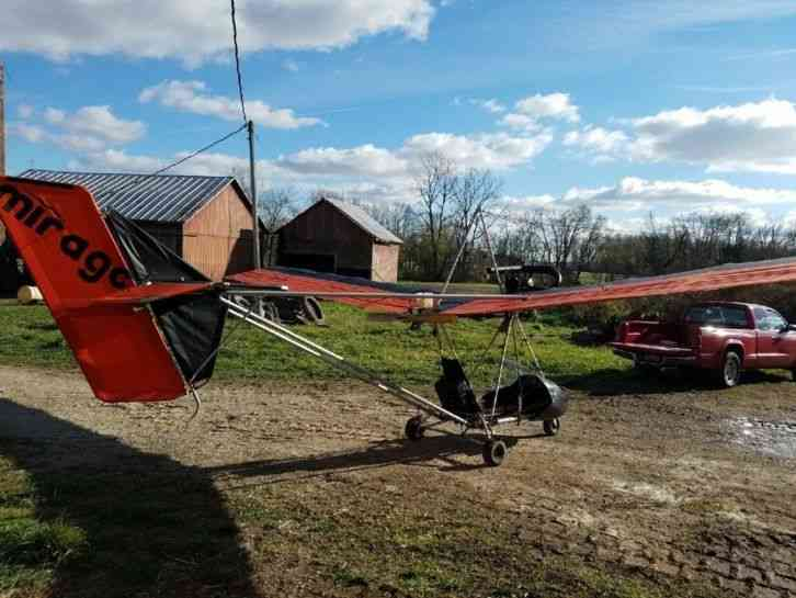 Mirage ultralight for sale  Greenville, OH  Always stored inside  Electric  start  One owner  Less