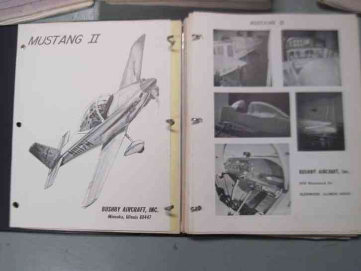 Mustang II Experimental Airplane Project Kit