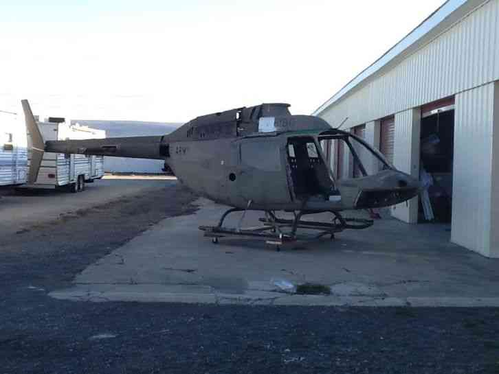 Oh 58c Static Display Helicopter Project This Is A