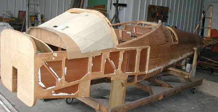 Osprey Partially Built Gp 4 Project Including Metal