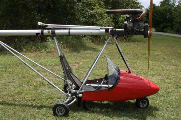 This is a Phantom X1 Ultralight with Kawasaki 440 engine  The engine runs  well   This would be a