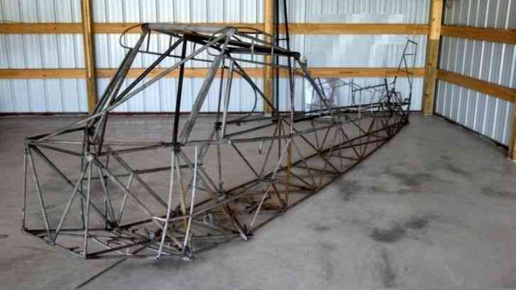 Piper 1978 Real Pa 18 150 Hp Super Cub Aircraft Frame Pa